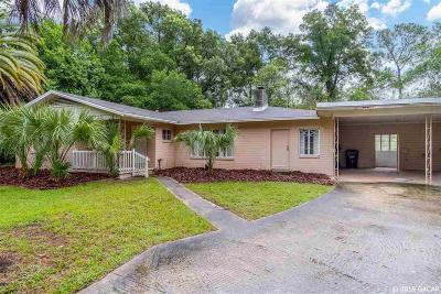 Gainesville Single Family Home For Sale: 1417 NW 17TH Street