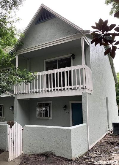 Gainesville Condo/Townhouse For Sale: 4411 SW 34TH Street #1007