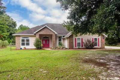 High Springs Single Family Home For Sale: 20274 NW 251st Terrace