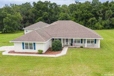 Alachua Single Family Home For Sale: 29126 N County Road 1491
