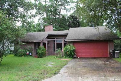 Gainesville Single Family Home For Sale: 4804 NW 37 Place