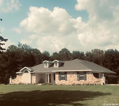 Alachua Single Family Home For Sale: 13658 NW 172 Avenue