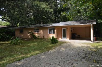 Gainesville Single Family Home For Sale: 3901 SE 14 Terrace