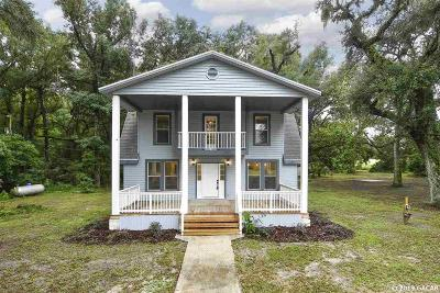 Gainesville Single Family Home For Sale: 3121 NW 156th Avenue