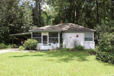 Gainesville Single Family Home For Sale: 1016 NE 12th Avenue