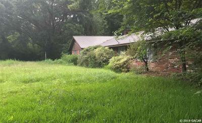 Newberry Single Family Home For Sale: 12231 W University Avenue