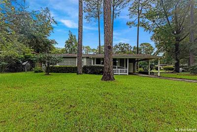 Gainesville Single Family Home For Sale: 4136 NW 89 Boulevard