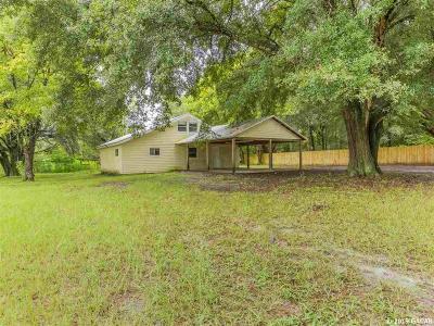 High Springs Single Family Home For Sale: 241 SE Hardin Court