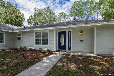 Gainesville Single Family Home For Sale: 6521 NW 32nd Street