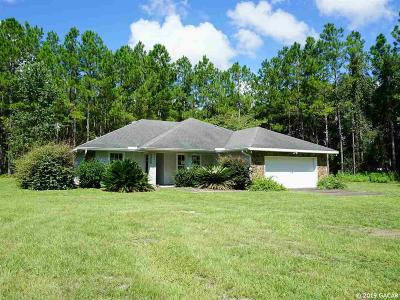 Chiefland Single Family Home For Sale: 5050 NW 137th Lane