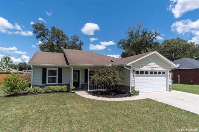 Newberry Single Family Home For Sale: 25148 SW 21st Place