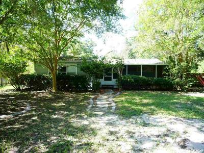 High Springs Single Family Home For Sale: 23981 NW 183rd Place