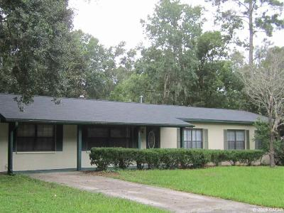 Gainesville Single Family Home For Sale: 3507 NW 52nd Avenue