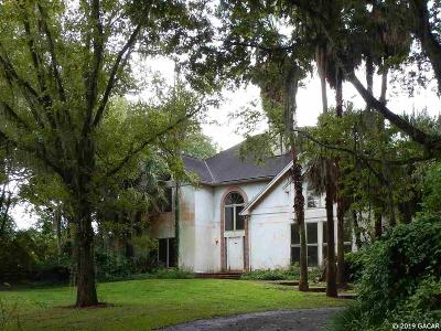 Gainesville Single Family Home For Sale: 13909 NW 21ST Lane