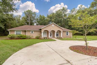 Bronson Single Family Home For Sale: 9550 NE 65TH