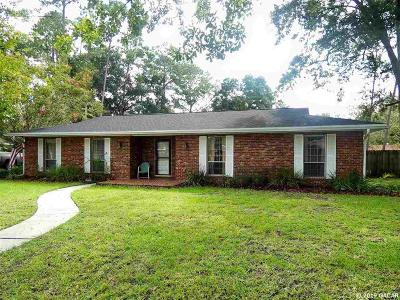 Gainesville Single Family Home Pending: 6021 NW 33RD Terrace