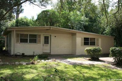 Gainesville Single Family Home For Sale: 2917 NE 11th Drive