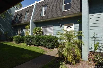 Gainesville Condo/Townhouse For Sale: 501 SW 75TH Street #J5
