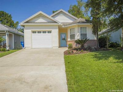 Alachua Single Family Home For Sale: 6364 NW 109TH Place