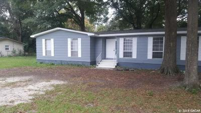Alachua Single Family Home For Sale: 14215 NW 142nd Place