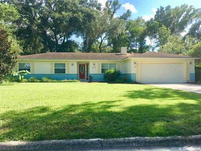 Gainesville Single Family Home For Sale: 4127 NW 34TH Place