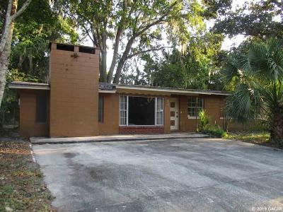 Gainesville Single Family Home For Sale: 937 SE 9th Place