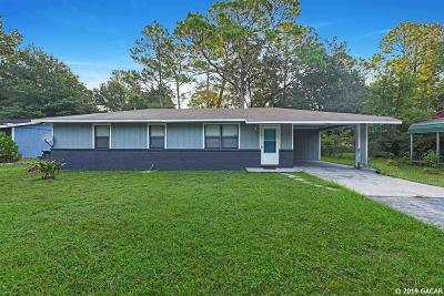 Gainesville Single Family Home For Sale: 2939 NE 9th Street