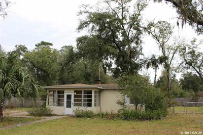Gainesville Single Family Home For Sale: 3129 NW 4TH Street