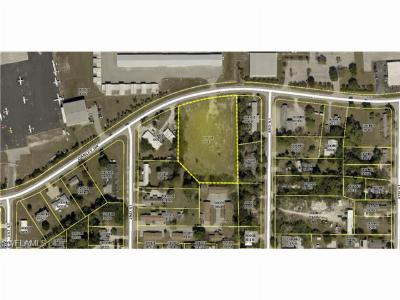 Fort Myers FL Commercial Lots & Land For Sale: $560,000