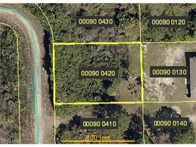 Lehigh Acres Residential Lots & Land Pending With Contingencies: 1249 Cavalier Cir