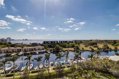 North Fort Myers Condo/Townhouse For Sale: 3426 Hancock Bridge Pky #806 WEST
