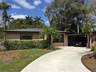 Fort Myers Single Family Home For Sale: 1551 Moreno Ave