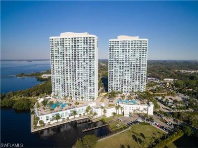 Fort Myers Condo/Townhouse For Sale: 3000 Oasis Grand Blvd #402