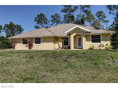 Lehigh Acres Single Family Home For Sale: 5330 Beck St