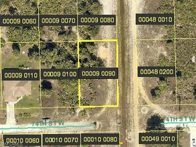 Lehigh Acres Residential Lots & Land For Sale: 2900 74th St W