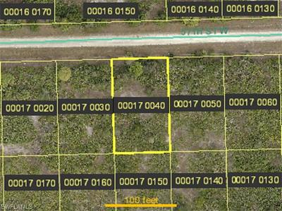 Lehigh Acres Residential Lots & Land For Sale: 3511 57th St W