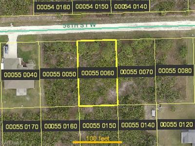 Lehigh Acres Residential Lots & Land For Sale: 3309 58th St W