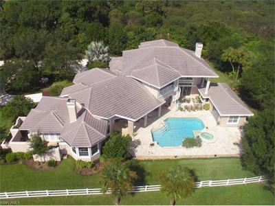 North Fort Myers Single Family Home For Sale: 3871 Hidden Acres Cir N