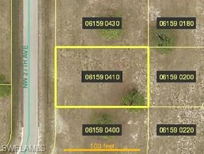 Cape Coral Residential Lots & Land For Sale: 2805 NW 27th Ave
