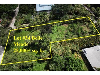 Sanibel Residential Lots & Land For Sale: 9232 Dimmick Dr