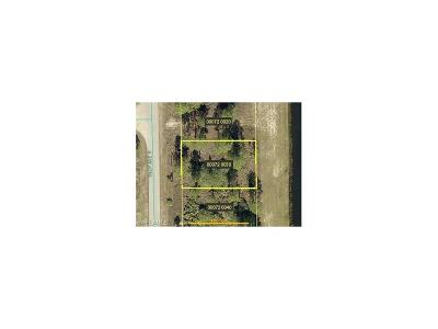 Lehigh Acres FL Residential Lots & Land For Sale: $9,900