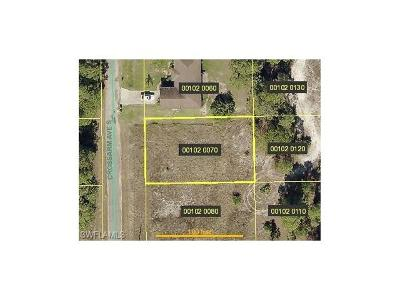Lehigh Acres FL Residential Lots & Land For Sale: $6,000