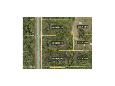 Lehigh Acres FL Residential Lots & Land For Sale: $15,000