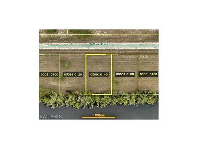 Cape Coral Residential Lots & Land For Sale: 2100 NW 27th St
