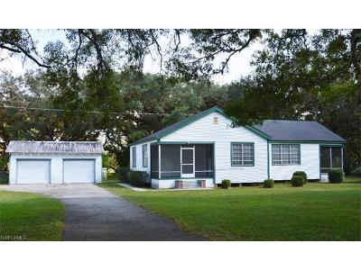 Labelle FL Single Family Home For Sale: $199,900