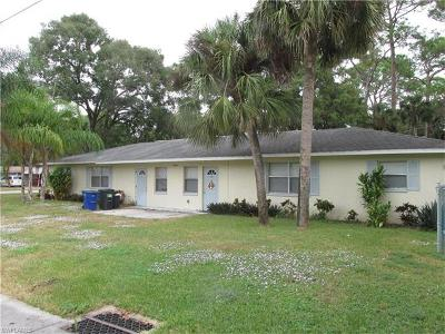 North Fort Myers Multi Family Home For Sale: 1534 Piney Rd