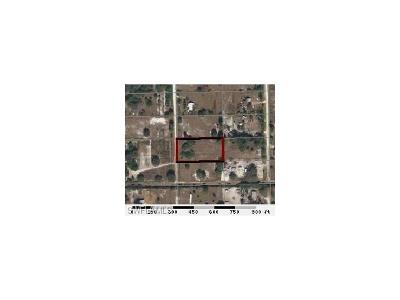 Clewiston Residential Lots & Land For Sale: 625 N Arboleda St