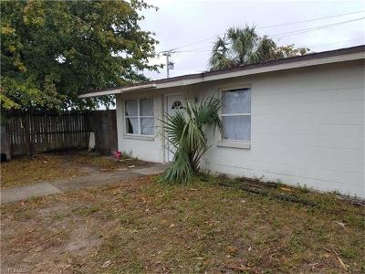 Fort Myers Single Family Home For Sale: 2009 Dupree St
