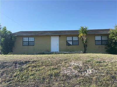 Lehigh Acres Single Family Home For Sale: 3301 38th St SW