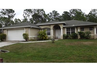 Lehigh Acres Single Family Home For Sale: 2519 17th St W